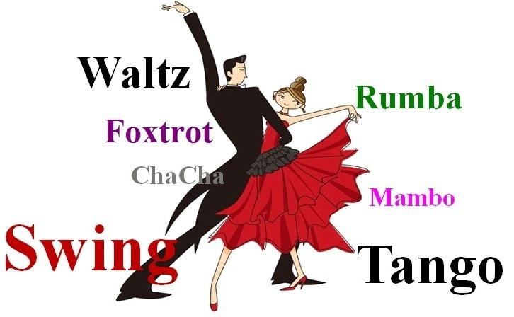 Variety of dances