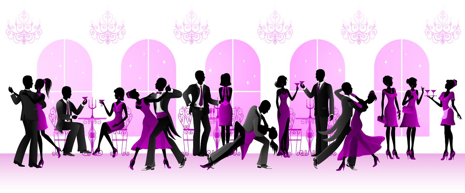 A dance party